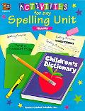 Activities for Any Spelling Unit Primary