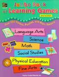 Jumbo Book of Learning Games Over 250 Games, Puzzles and Brain Teasers