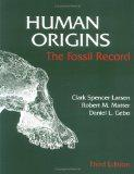 Human Origins The Fossil Record