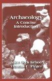 Archaeology A Concise Introduction