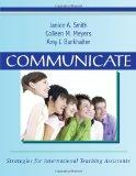 Communicate: Strategies for International Teaching Assistants