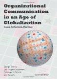 Organizational Communication in an Age of Globalization : Issues, Reflections, Practices