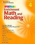 Spectrum Enrichment Math And Reading Grade 4