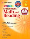 Spectrum Enrichment Math And Reading Grade 6