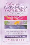 Complete Personalize Promise Bible For Women Every Single Promise In The Bible Personalized ...