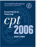 CPT 2006 Current Procedural Terminology; Standard Edition