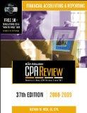 Bisk CPA Review: Financial Accounting & Reporting - 37th Edition 2008-2009 (Comprehensive CP...