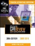 Bisk CPA Review: Financial Accounting & Reporting - 38th Edition 2009-2010 (Comprehensive CP...