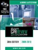 Bisk CPA Review: Auditing & Attestation - 38th Edition 2009-2010 (Comprehensive CPA Exam Rev...