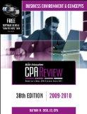Bisk CPA Review: Business Environment & Concepts - 38th Edition 2009-2010 (Comprehensive CPA...