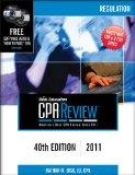 Bisk CPA Review: Regulation, 40th Edition (Comprehensive CPA Exam Review Regulation)