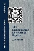 Distinguishing Doctrines of Baptists