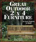 Great Outdoor 2x4 Furniture: 21 Easy Projects to Build - Stevie Henderson - Paperback - 1 ED