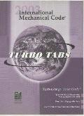 International Mechanical Code 2003: Tabs for Looseleaf Version
