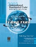 International Residential Code 2003 Tabs: Tabs for Looseleaf Version