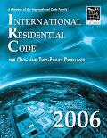 International Residential Code 2006 For One- and Two-Family Dwellings