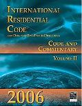 International Residential Code for One- and Two-Family Dwellings: Volume 2: Code and Commentary