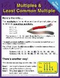 Pre-Algebra Chart: Multiples and Least Common Multiple