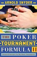 Poker Tournament Formula II