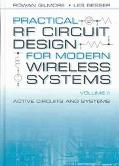 Practical Rf Circuit Design for Modern Wireless Systems Active Circuits and Systems