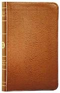 Holy Bible English Stanard Version, Thinline Tan Bonded Leather