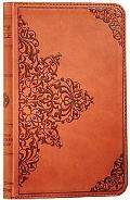 Holy Bible English Stanard Version, Trutone Nutmeg Filigree Imitation Leather