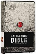 Holy Bible English Standard Version, Weathered Metal, Battlezone