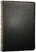 Holy Bible English Standard Version, Black, Genuine Leather, Single Column Reference