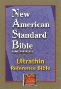 Reference Bible, Ultrathin Edition: New American Standard Bible Update (NASB), burgundy bond...