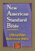 Reference Bible, Ultrathin Edition: New American Standard Bible Update (NASB), burgundy bond...