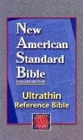 New American Standard Bible : Ultrathin Reference Bible, Burgundy, LT, Indx