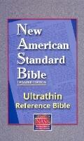 New American Standard Bible : Ultrathin Reference Bible, Black, LT, Indx
