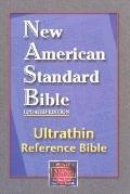 New American Standard : Ultrathin Reference Bible, Burgundy W/Magnetic Closure