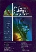 The Catholic Rainbow Study Bible: Today's English Version (TEV), blue bonded leather