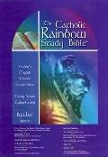 The Catholic Rainbow Study Bible: Today's English Version (TEV), blue bonded leather, thumb-...