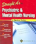 Straight A's in Psychiatric & Mental Health Nursing