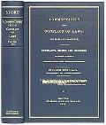 Commentaries on the Conflict of Laws, Foreign and Domestic, in Regard to Contracts, Rights, ...