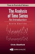 Analysis of Time Series An Introduction