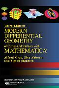 Modern Differential Geometry of Curves and Surfaces with Mathematica