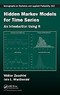 Hidden Markov Models for Time Series A Practical Introduction Using R