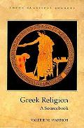 Greek Religion A Sourcebook