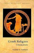 Greek Religion A Sourcebook