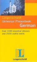 Langenscheidt's Universal Phrasebook German 2006
