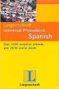 Langenscheidt' s Universal Phrasebook Spanish