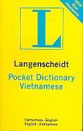 Langenscheidt's Pocket Vietnamese Dictionary Vietnamese - English / English -vietnamese