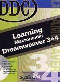 Learning Macromedia Dreamweaver 3 & 4