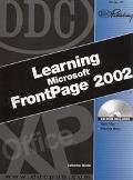 Ddc Learning Microsoft Frontpage 2002
