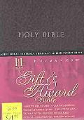 Holy Bible Holman Christian Standard, Gift & Award, Burgandy