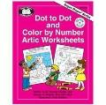 Dot to Dot and Color by Number Artic Worksheets