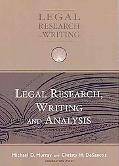 Legal Research, Writing and Analysis